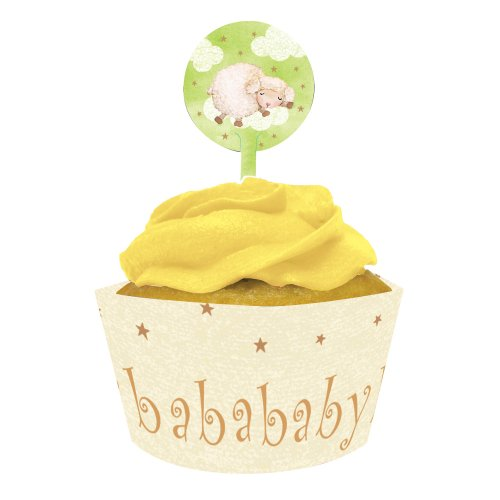 baby shower cupcake wrappers - 7