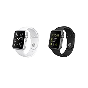 Apple Watch Sport 38mm Space Gray/Black or Silver/White (Certified Refurbished) by Apple Computer