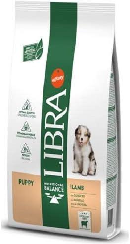 AFFINITY Libra Canine Puppy Cordero 12KG, Negro, Estandar