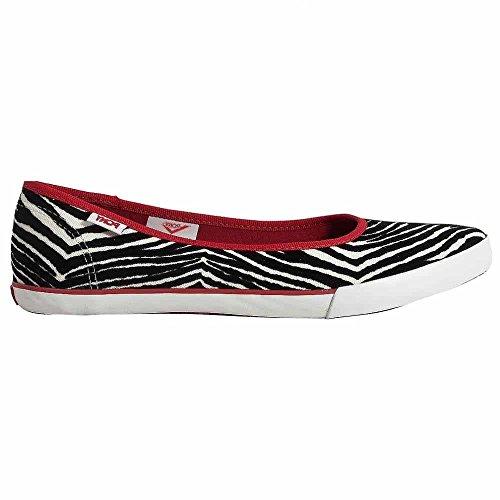 Pony Women's Princess Slip-On Fashion Sneaker,Zebra/Red/White,6.5 - Princess Womens Shoe Pony