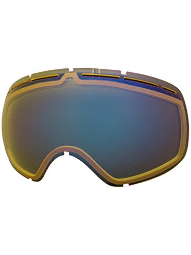 Electric Visual EG2 Yellow/Blue Chrome Snow Goggle - Goggles Electric Lenses Eg2