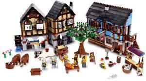 [해외] LEGO (레고) CASTLE MEDIEVAL MARKET VILLAGE (10193) 블럭 장난감 (병행수입)