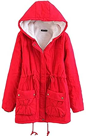 Amazon.com: WSPLYSPJY Womens Fashion Winter Parka Jacket