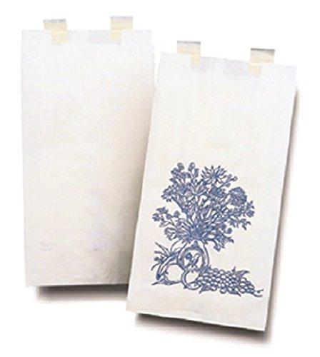 McKesson Bag Bedside Floral Paper - Case of 2000 - Model 18-713
