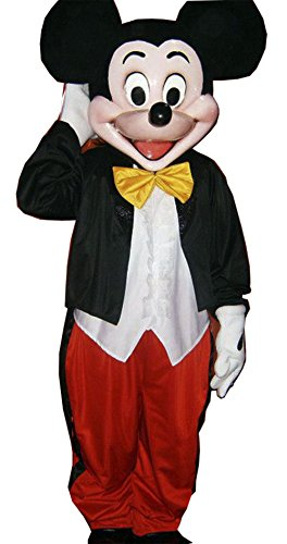 Mickey Mouse Mascot Costume Adult Cartoon Character Costume / Delivery Time 3 to 4 Weeks