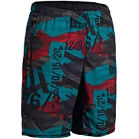 Domyos 500 Cross Training Shorts - Red Blue