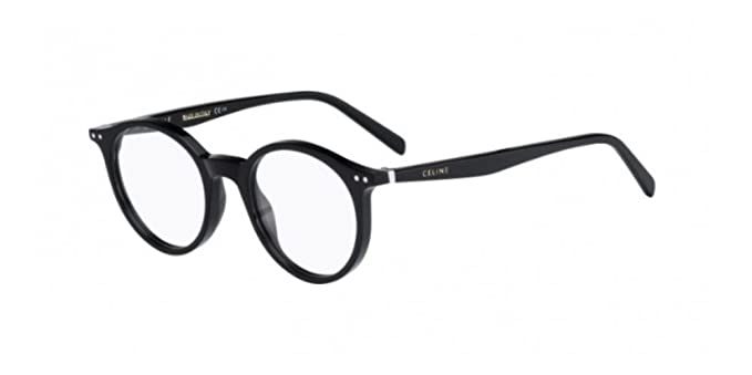 3943f7b784796 Image Unavailable. Image not available for. Color  Celine Oval Eyeglasses  CL41408 807 Size  47mm Black 41408