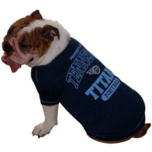 Pets First NFL Tennessee Titans T-Shirt, Medium, My Pet Supplies