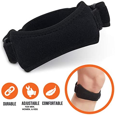 Patella Strap Knee Support for Woman  Man  Knee Pain Relief  Gym Basketball Arthritis Hiking Runners