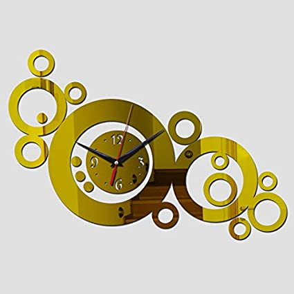 Constructan(TM) quartz watch horloge diy wall clock modern design vintage large decorative clocks