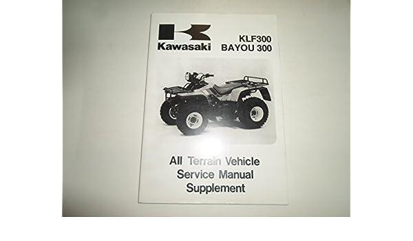 2000 kawasaki bayou 300 service manual