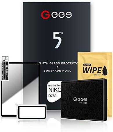 GGS Larmor - Protector de Pantalla y Parasol para Nikon D750 (5ª ...