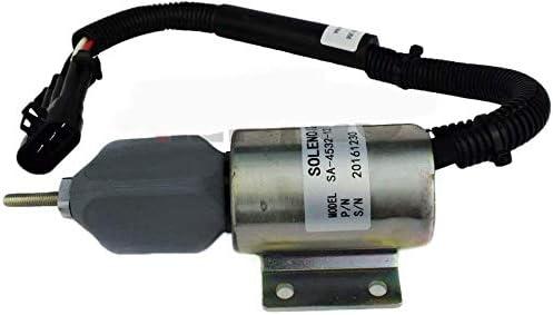 Shutdown Solenoid SA453212 59009134 for Ingersoll-Rand DD-130 Compactor B5.9-C