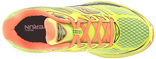 Saucony Guide 9 M - Zapatillas de running Hombre Citron/Vizi Orange/Navy