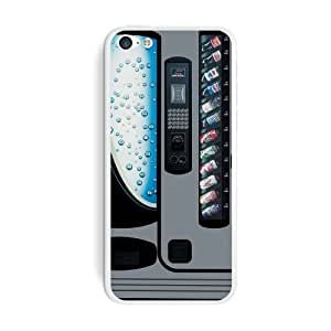 Graphics and More Soda Pop Vending Machine Protective Skin Sticker Case for Apple iPhone 6 4.7 - Set of 2 - Non-Retail Packaging - Opaque