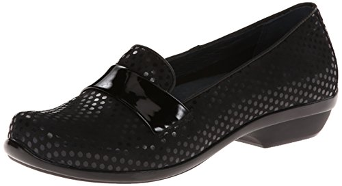 Dansko Women's Oksana Flat,Black Polka Dot,36 EU/5.5-6 M US by Dansko