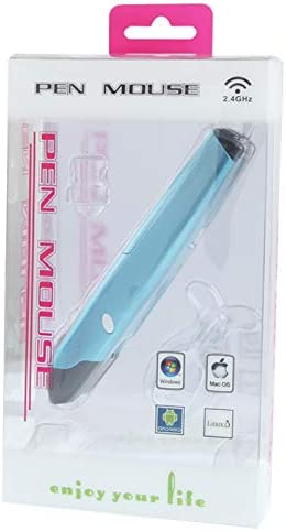 Color : Color1 1000cpi Radiocommunication Pen Mouse with USB Miniskirt Receiver 2.4GHz 500 10m ONEMO Transmission Distance