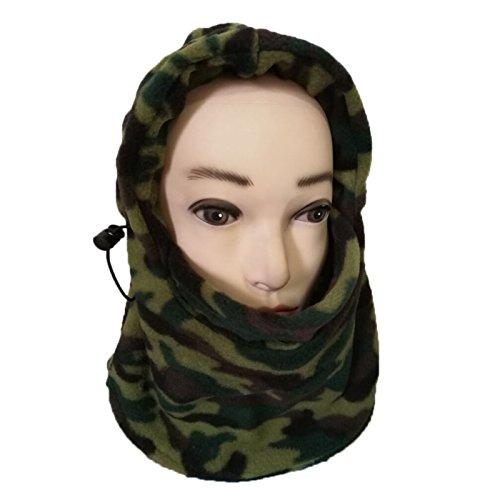 Elonglin Unisexe Enfant & Adulte Cagoule de Masque Cache-Oreilles Nez Tête Tour de Cou Garder Chaud Cagoule de Ski pour… 2
