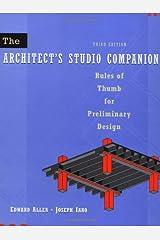 The Architect's Studio Companion, 3rd Edition Hardcover