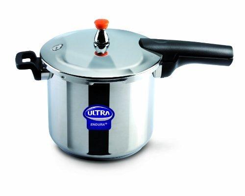 Elgi Ultra EU-8L Stainless Steel Pressure Cooker, 8-Liter by Elgi Ultra