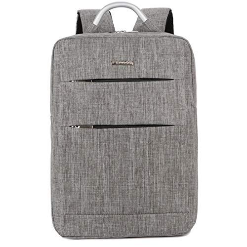 15 uomo computer grigio per Olprkgdg grigio colore 6 Travel Bag multifunzionale pollici zaino leggero per EnBCq