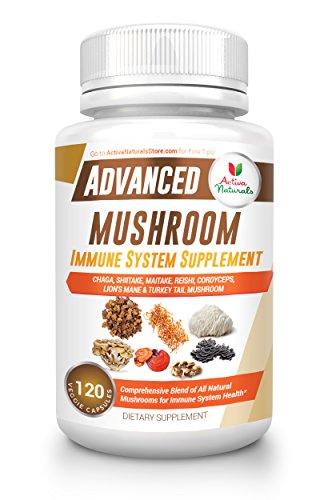 Mushroom Support Supplement Vegetarian Capsules product image