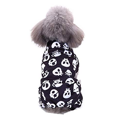 Pet Supply - Cool Cute Pet Cosplay Costume Dog Pet Costume Clothing Halloween Skull Christmas Snowman Pattern T Shirt Apparel Teddy - Patterns Craft Free Snowman