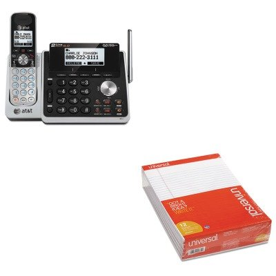 KITATTTL88102UNV20630 - Value Kit - Atamp;t TL88102 Cordless Digital Answering System (ATTTL88102) and Universal Perforated Edge Writing Pad (UNV20630) by AT&T