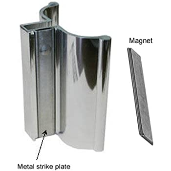 Clear Plastic Quot Z Quot Shaped Shower Door Pull Handle Package