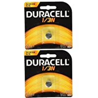 Duracell DL1/3N CR1/3N 3V Lithium Battery 2 Pack
