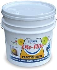 Jugs Sports Lite-Flite Softballs with Bucket