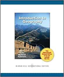 introduction to geography getis 13th edition pdf