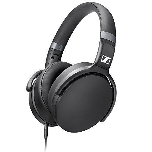 Sennheiser HD 4.30G Black Around Ear Headphones (Sennheiser Folding Headphone)