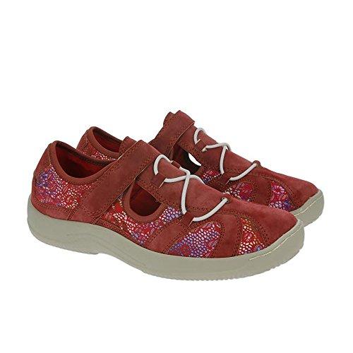 Ruby De Majestuoso Zapatos Heavenly Feet Ruby