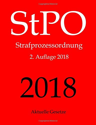 stpo-strafprozessordnung-aktuelle-gesetze-strafprozessordnung-ohne-nebengesetze