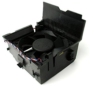 Genuine Dell RR527 CPU Cooling Fan and Shroud Assembly for Optiplex 210L, 320, 740, 745, 330, 360, 755, 760, 780, GX520, GX620 Mini-Tower Systems, Compatible Part Numbers: Y4574, G9096, H9073, P714F