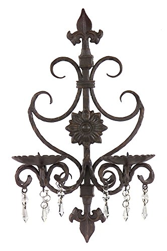 Corporation Candle Holder Sconce Brown