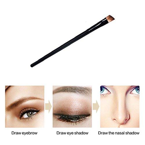CCbeauty Eyebrow Powder Stamper Seal Kit Eyebrow Kit Powder Waterproof Makeup Eyebrow Tinting Coloring Kit,Light Brown by CCbeauty (Image #5)