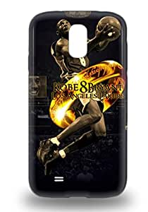 Durable NBA Los Angeles Lakers Kobe Bryant #24 Back 3D PC Case Cover For Galaxy S4 ( Custom Picture iPhone 6, iPhone 6 PLUS, iPhone 5, iPhone 5S, iPhone 5C, iPhone 4, iPhone 4S,Galaxy S6,Galaxy S5,Galaxy S4,Galaxy S3,Note 3,iPad Mini-Mini 2,iPad Air )