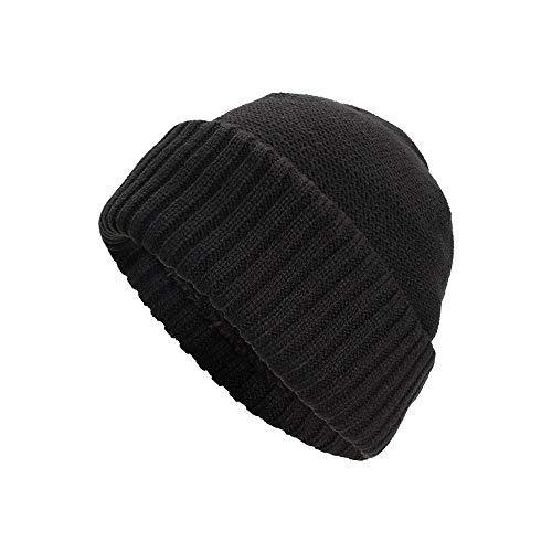 Yezijin Women Men Warm Baggy Weave Crochet Winter Wool Knit Ski Beanie Skull Caps Hat (Black) ()