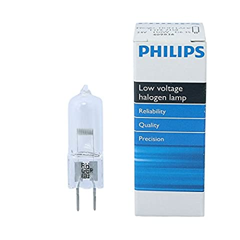 Philips 7158 150W G6.35 24V Halogen Non-Reflector Light Bulb - Philips Reflector