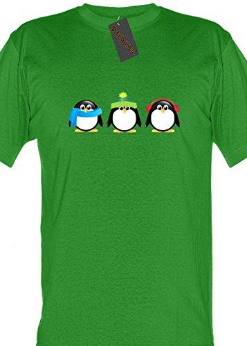 Renowned - Camiseta - Tripulación - Manga Corta - Mujer Verde