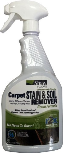 Shaw R2X GREEN Carpet Stain & Soil Remover 32oz Spray - Shaw Green