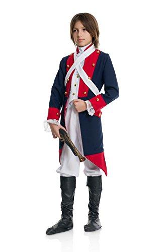 Charades Revolutionary Soldier Children's Costume, X-Small