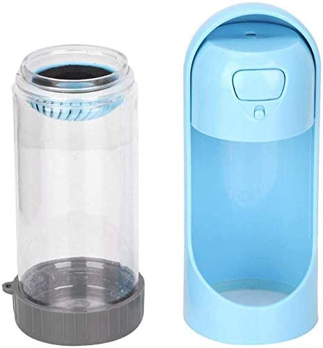 Portable Dog Water Bottle 300ML Leak Proof Pet Puppy Water Dispenser Drinking Feeder with Bowl Dispenser for Pets Outdoor Walking Hiking Travel