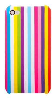 Ideal Case Prolific Fringe Coque Rigide pour iPhone 4 Multicolor