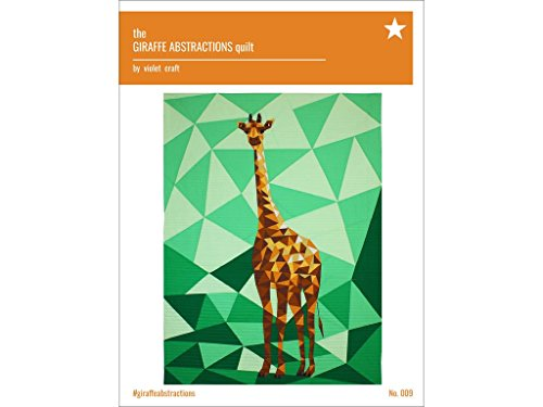 Violet Craft Echo Park Paper Company VCR009 The Giraffe Abstractions Quilt (Violet Quilt Fabric)