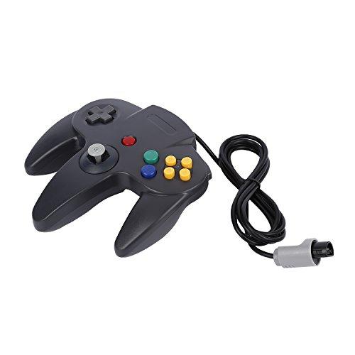 YKS Game Controller Joystick for Nintendo 64 N64 System,Black