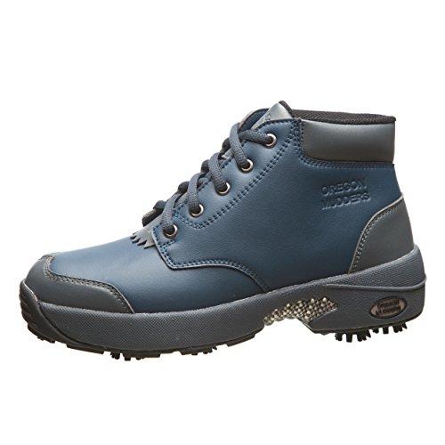 Oregon Mudders Women's CW400 Navy/Grey Waterproof 4 Inch Golf Boot Size 10M