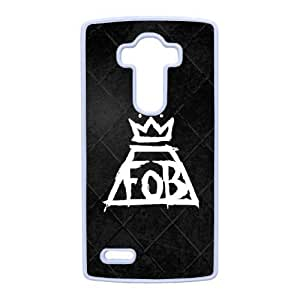 LG G4 Cell Phone Case White Fall out boy QY7009570